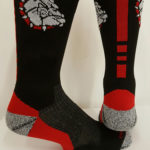 Custom Bulldog Sock